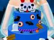 Elsa Halloween Cake