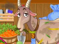 Goat Shed Cleaning