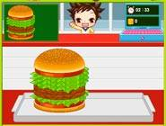 Hamburger Gril