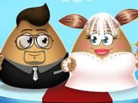 Pou Girl Wedding Party