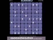 Sudoku violet