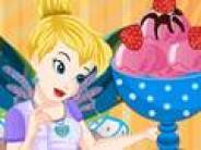 Tinkerbell Strawberry Ice Cream