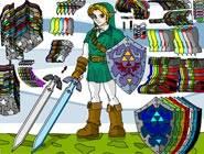 Zelda Link Habillage